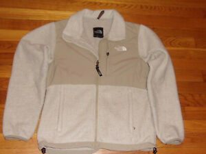 THE NORTH FACE FULL ZIP FLEECE/NYLON JACKET WOMENS SMALL EXCELLENT CONDITION