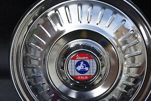 "VESPA Rally LVB GS VBB VBC 8"" or 10"" Stainless Steel Spare Wheel Cover Trim"