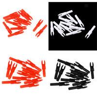 Set da 48 pezzi di plastica per tiro con l'arco, set di punte di precisione per