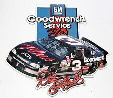 Vintage Tacker tin metal sign GM Goodwrench Service Plus Dale Earnhardt Nascar