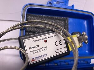 MadgeTech TC4000 2400 Baud Thermocouple Donaldson Data Logger