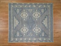 "8'2""x10'3"" HandKnotted Pure Wool Peshawar with Southwestern Motifs Rug G45599"