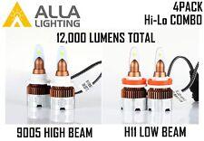 Alla Lighting LED High Low Beam Headlight Bulb for 2003~2007 Chevrolet SILVERADO