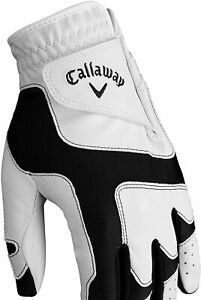 CALLAWAY Opti Fit Junior White Left Hand One Size Fits Most Golf Glove NEW