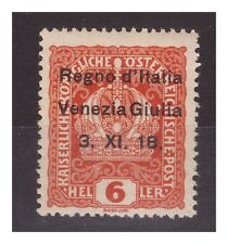 VENEZIA GIULIA 1918 - 6  HELLER   NUOVO   **