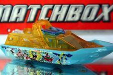 2013 Matchbox Nickelodeon Spongebob Squarepants Exclusive Rescue Boat