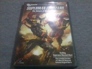 SUPERMAN / SHAZAM! - The Return Of Black Adam DVD Made In USA