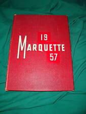BISHOP NOLL HIGH SCHOOL YEARBOOK 1957 MARQUETTE HAMMOND INDIANA