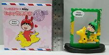 Anime Chibi Maruko Chan X Rody Enjoy World Trip Figure Keyring BRAZIL #10, 1pc