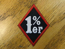 Diamond Patch 1% Er Percent Embroidered Patch Made In Usa