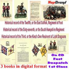 Historical record of the 12th , 67th, & 3rd or King's Own Reg. of Light Dragoons