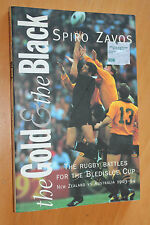 Spiro Zavos The Gold & the Black History of The Bledisloe Cup 1903 - 1994 Rugby