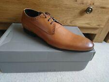 NEW Mens H By Hudson Hader Leather Shoes UK 8 EU 42 bnib