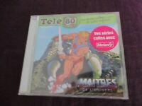"""RARE! CD NEUF """"TELE 80 : LES MAITRES DE L'UNIVERS (MUSCLOR)"""""""