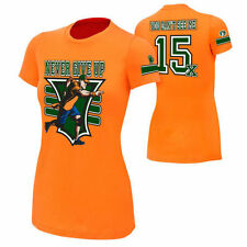 WWE Authentic - John Cena - Never Give Up 15X - Women's T-Shirt - XL Extra Large