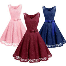 Womens Mini Short Dress Formal Evening Cocktail Party Bridesmaid Ball Gown Prom