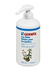 GEHWOL Leg Balm - Soothing Medicinal Herb Balm for Legs and Feet 500ml