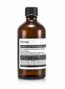 Aesop Geranium Leaf Hydrating Body Treatment 100ml Womens Skin Care