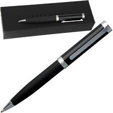 HUGO BOSS, Kugelschreiber, massiv & klassisch, Drehmechanik, Farbe: Schwarz, NEU