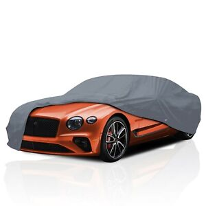 4 Layer Waterproof Car Cover for Bentley Arnage T 2006-2009 UV Protection