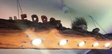 Deckenleuchte Hängeleuchte Pendelleuchte Holz Eiche 1,00 mit 3 LED´s