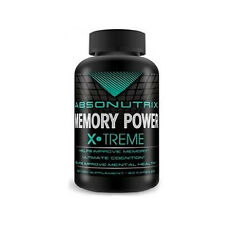 Absonutrix Memory Power Xtreme Helps Improve Mental Health 60 Capsules New