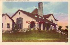 1938 BLAIRMONT COUNTRY CLUB, ALTOONA, PA.
