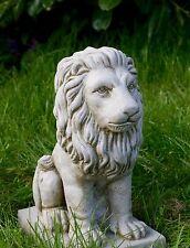PROUD LION Small Decor Patio Stone Cast Bespoke Ornament Statue Pillar Caps