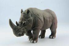 Big Rhinoceros Simulation Wild Animal Model For Collection  Children Toys Gift