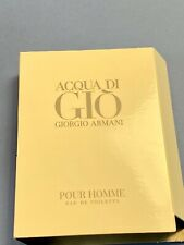 Acqua Di Gio Giorgio Armani EDT Pour Homme Sample Spray Vial