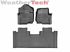 WeatherTech FloorLiner for Ford F-150 SuperCab w/ Bench - 2015-2017 - Black