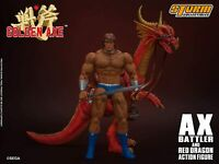 Storm Collectibles Golden Axe Ax Battler and Red Dragon 1:12 Scale Action Figure