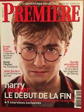PREMIERE 10/10 Collector Harry  Potter J Bardem K Scott Thomas Largo Winch 2