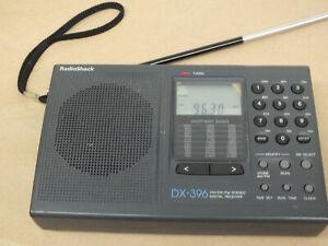 Radio Shack DX-396 AM/SW/FM Digital Receiver Works Perfect