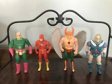 VINTAGE DC KENNER SUPER POWERS HAWK MAN LEX LUTHER FLASH MR FREEZE
