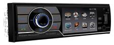 "Power Acoustik Single Din PD-344B CD/DVD/MP3 Player 3.4"" LCD Display Bluetooth"