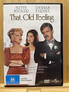 THAT OLD FEELING Dvd Region 4 BETTE MIDLER DENNIS FARINA *** Rare
