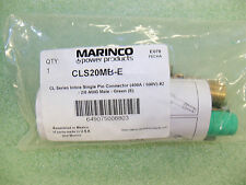 (10) Marinco CLS20MB-E Inline Single Pin Connector (400a/600v) #2-2/0 Male Green