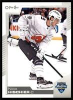 2020-21 UD O-Pee-Chee Base All Star Variation #48 Nico Hischier