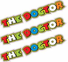 "3 x 5"" The Doctor Valentino Rossi Stickers Decals Quality Printed Vinyl Label"