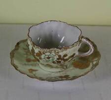 Collectors Antique Tea Cup & Saucer,  Gold  Decoration