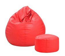 Couchette Combo XXL Bean Bag Cover with Footrest Bean Bag Without Beans