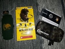 Metal Gear Solid Peace Walker PSP Playstation Portable Accesory Set HORI (RARE!)
