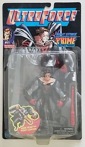 ULTRA FORCE NIGHT STRIKE PRIME ULTRA HERO WITH BIONIC HELMET AND ROCKET LAUNCHER