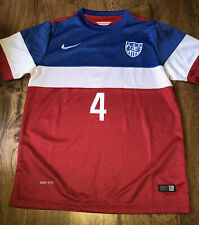 United States Nike 2014 MICHAEL BRADLEY USA Soccer Jersey Youth XL ADULT SMALL