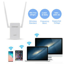New listing 1200Mbps WiFi Range Extender Repeater Wireless Amplifier Router Signal Booster L