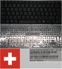 Tastiera Qwertz Svizzera MSI Wind U90 U100 E1210 V022322BK1 S1N-1ECH251-SA0 Nero