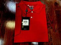 Adidas Men'short Sleeves clima Cool Golf Polo Shirt, Red, Sz 3XL.