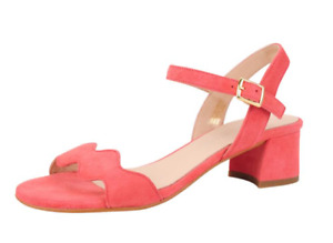 Patricia Green Gina Coral Suede Block Heeled Sandal Women's sizes 6-11/NEW!!!