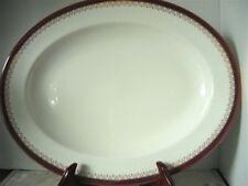 Paragon Fine Bone China Dinnerware 'Red Holyrood' 1 Serving Platter England